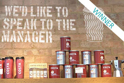 Costa Coffee: We'd Like to Speak to the Manager