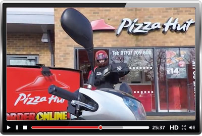 Pizza Hut Delivery: Drivers Recruitment Video