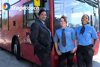 Stagecoach London: Women Behind the Wheel