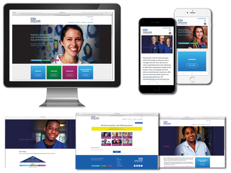 NHS careers websites